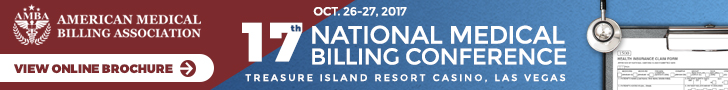 AMBA 17th Annual National Medical Billing Conference
